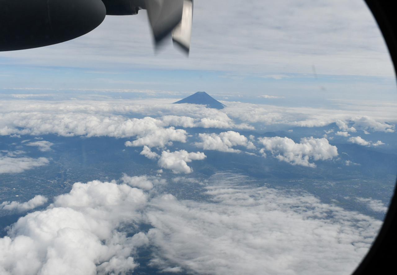 画像: C130Hからの風景