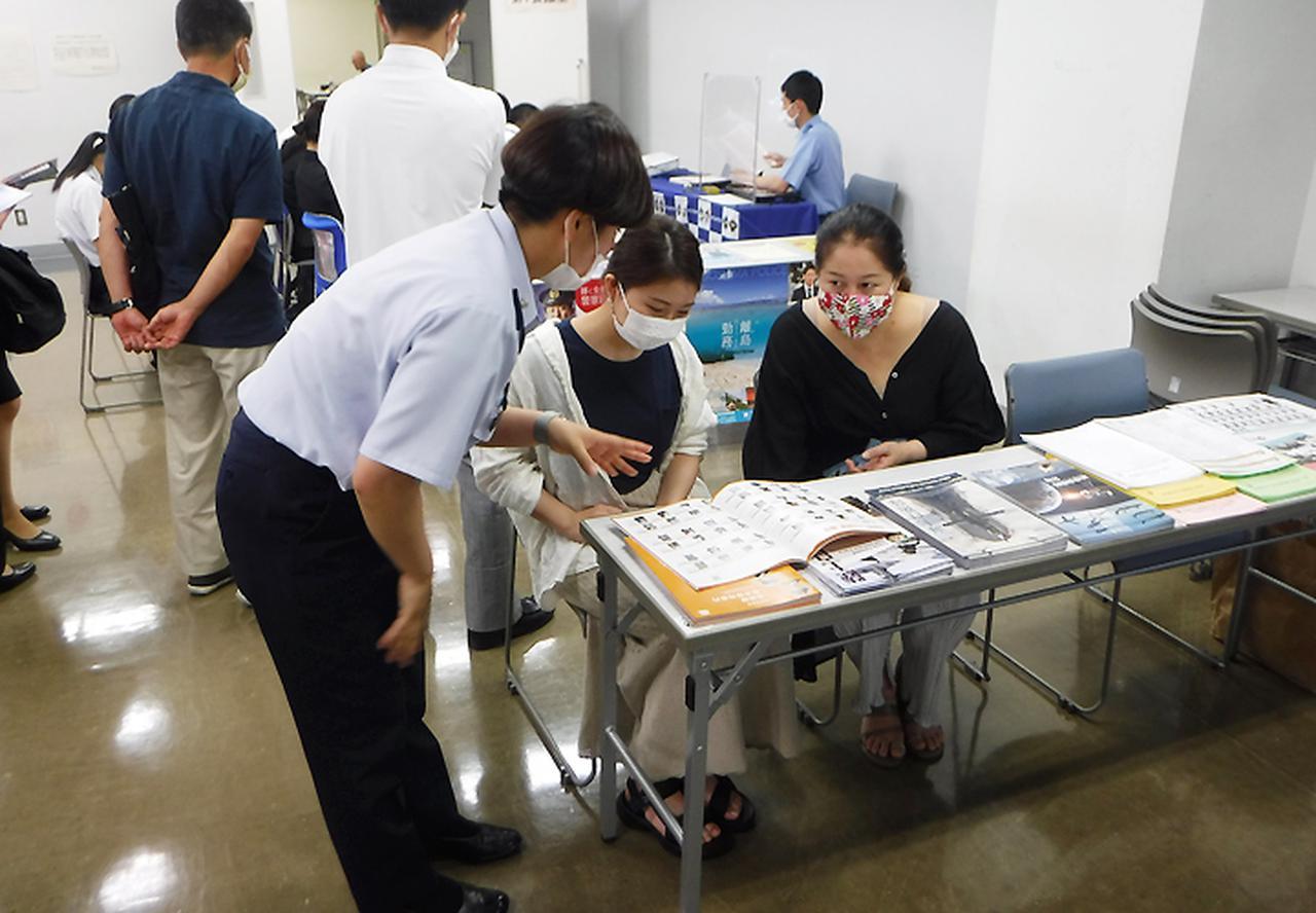 画像2: 藤田空士長「募集の厳しい現状を理解」|鹿児島地本