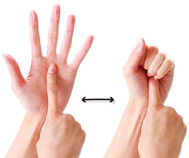 画像1: 手の痛みのセルフケアのやり方