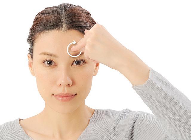 画像18: 「症状別の髪の生え際押し」のやり方