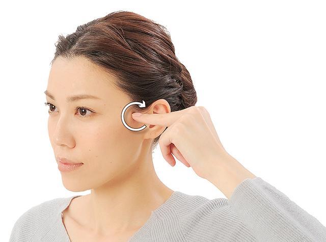画像7: 「症状別の髪の生え際押し」のやり方