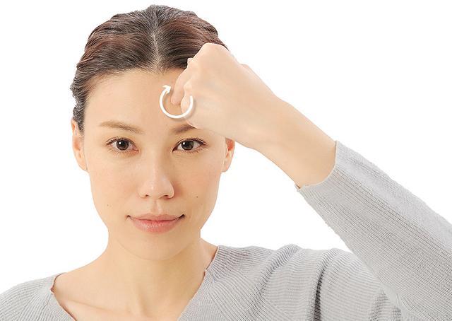 画像16: 「症状別の髪の生え際押し」のやり方