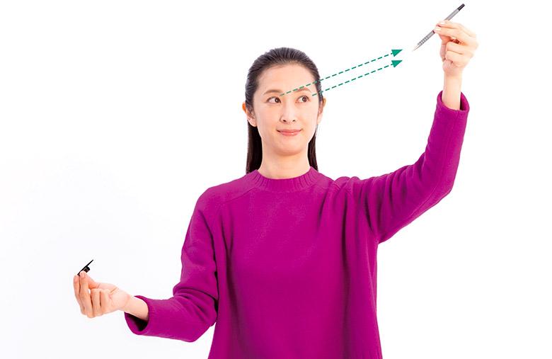 画像1: ペンさし運動のやり方