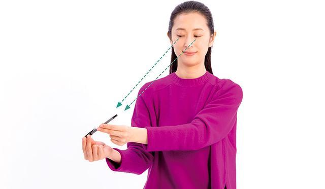 画像2: ペンさし運動のやり方