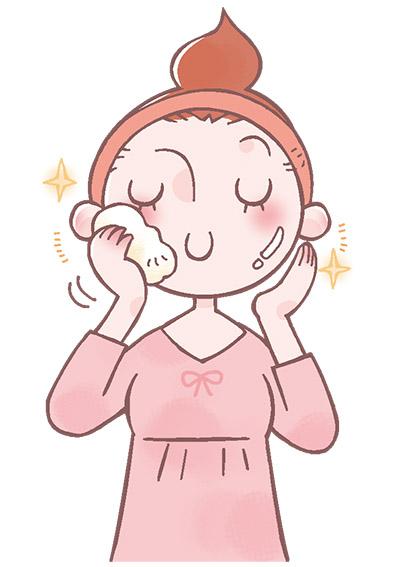 画像1: 【毛穴汚れ・大人ニキビ】肌の汚れを優しくしっかり落とす!美肌アナウンサーの日課「こんにゃくスポンジ洗顔」