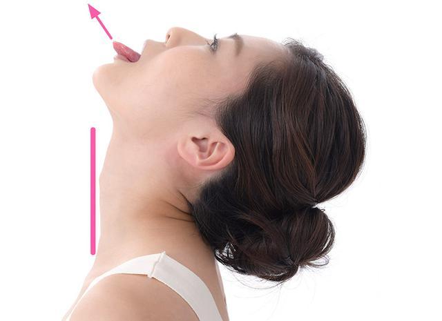 画像4: 二重あごを消す舌の体操のやり方
