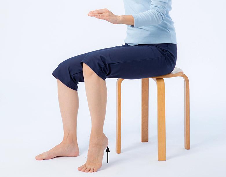 画像1: 準備体操2 足を動かす練習