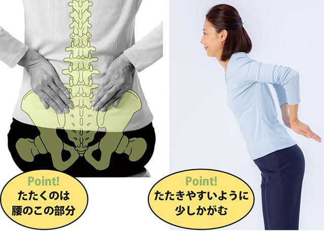 画像4: 骨たたき2 ひざをたたく