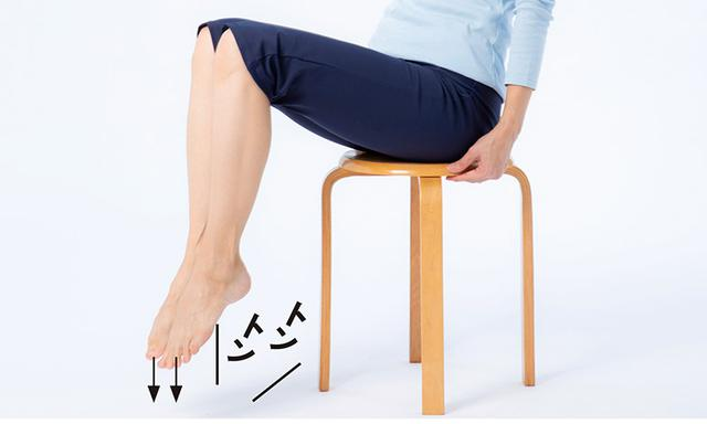 画像3: 骨たたき1 足をたたく (前足部で床をたたく)