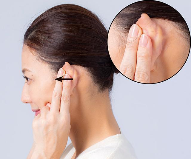 画像7: 耳ひっぱりのやり方