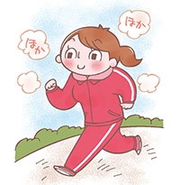 画像: 冷え症解消術❸ ジョギングなどの有酸素運動