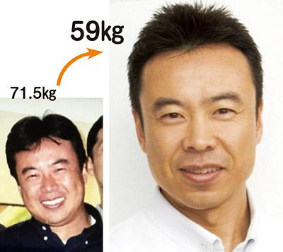 画像: ショウガみそ汁で12kgやせて若返った山口先生!