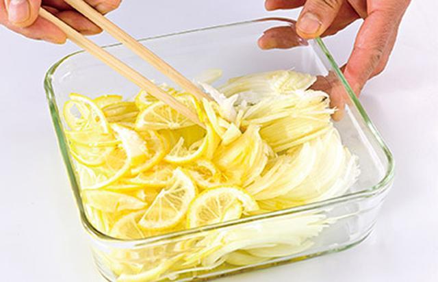 画像4: 5分でできる「レモン玉ねぎ」の作り方