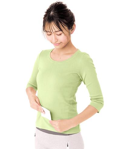 画像: おなかに貼ると内臓の不調や生理痛にも効く