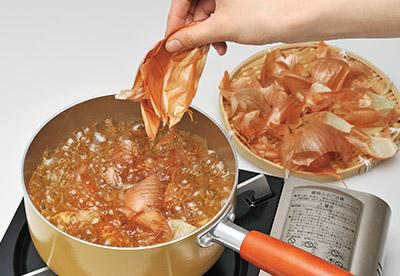 画像2: タマネギの皮茶の作り方
