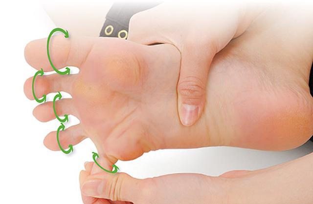画像1: 足の指回しのやり方