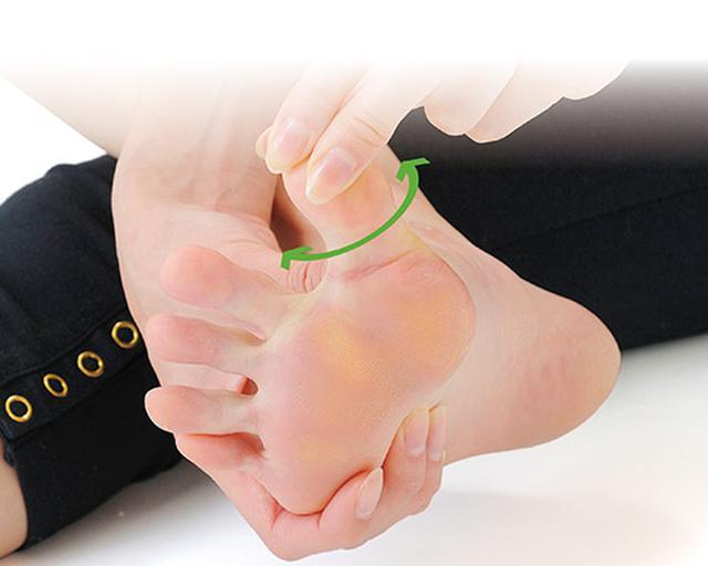 画像2: 足の指回しのやり方