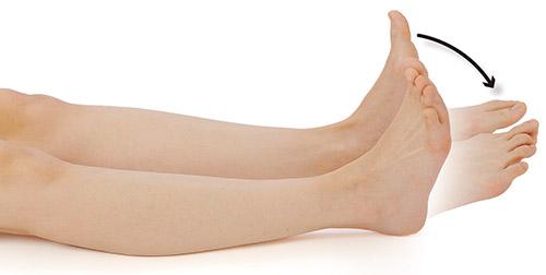 画像1: ふくらはぎの筋肉と深い呼吸で下肢の血流を促進