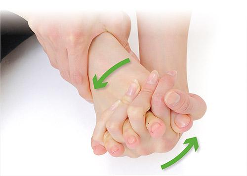 画像4: 足の指回しのやり方