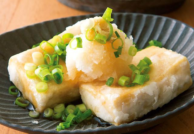 画像: お豆腐より簡単!もちっとした食感が楽しい ♪ 揚げ出し高野豆腐