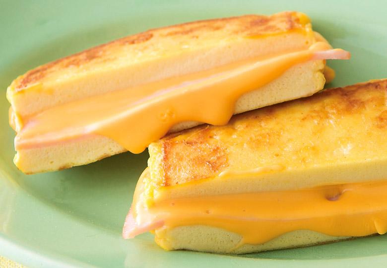 画像: チーズとの相性抜群!おやつにも◎ ♪ 高野豆腐のクロックムッシュ