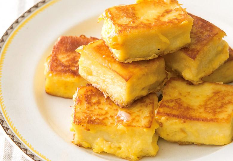 画像: ダイエット時のおやつにピッタリ ♪ 高野豆腐のフレンチトースト