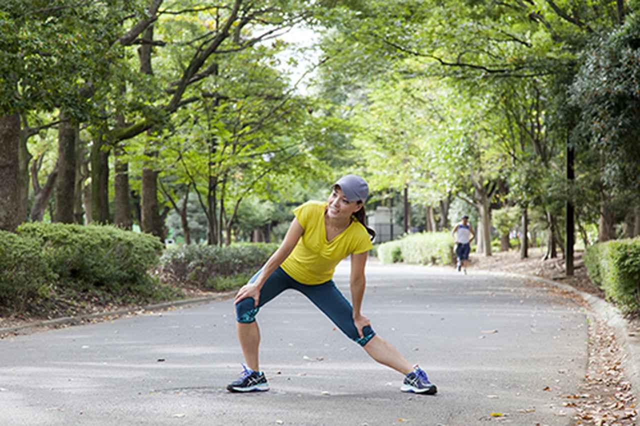 画像: ほぼ毎日近所の公園を走る新菜先生