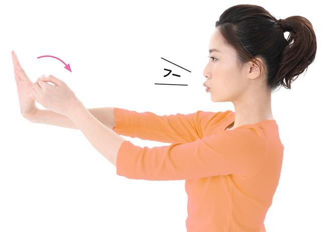 画像2: 脳の循環がよくなる!全身が伸びる 「指そらし」のやり方