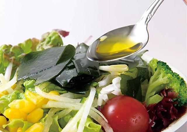 画像: サラダのドレッシングの材料に使う