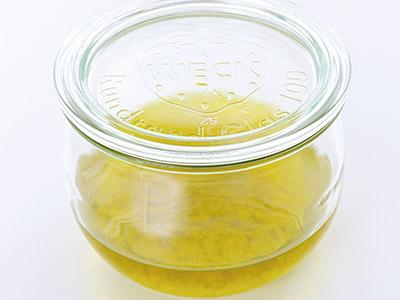 画像6: すったあとに2時間置きオリーブ油に5日間浸ける