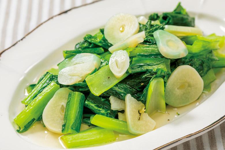 画像: 中華料理の定番にも使える酢ニンニク