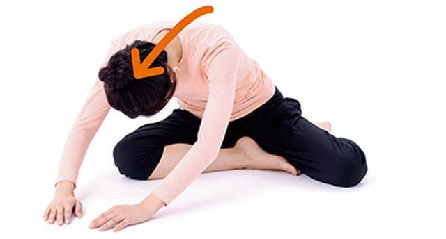 画像2: 背中の体軸ねじり①