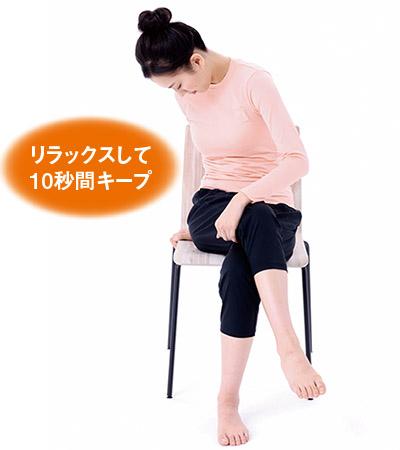 画像3: 腰の体軸ねじり②