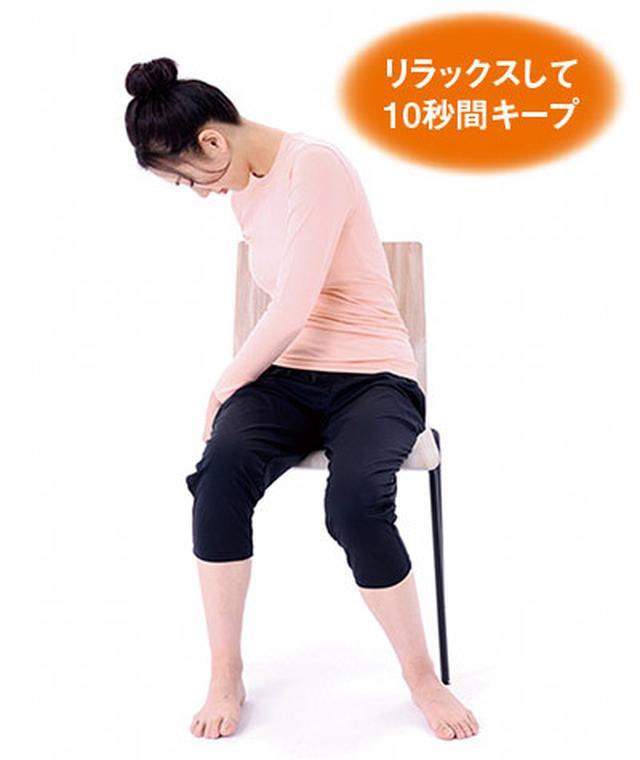 画像3: 腰の体軸ねじり①
