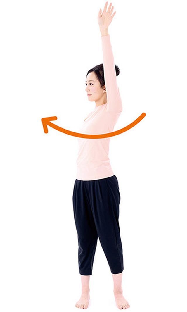 画像2: 肩の体軸ねじり②