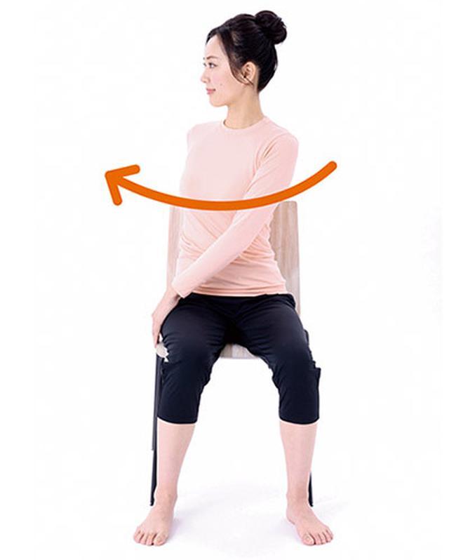 画像2: 腰の体軸ねじり①