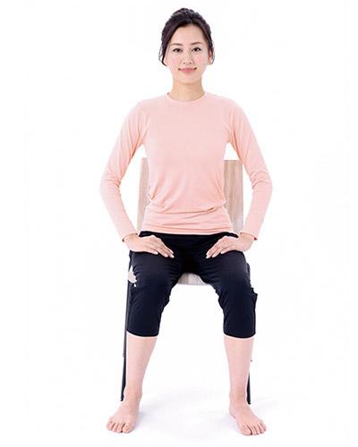 画像1: 腰の体軸ねじり①