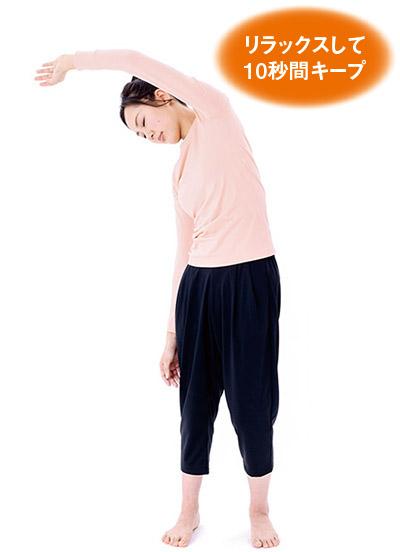 画像3: 肩の体軸ねじり②