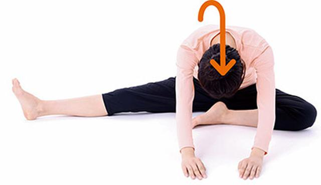 画像2: ひざの体軸ねじり①