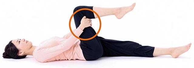画像1: ひざの体軸ねじり②