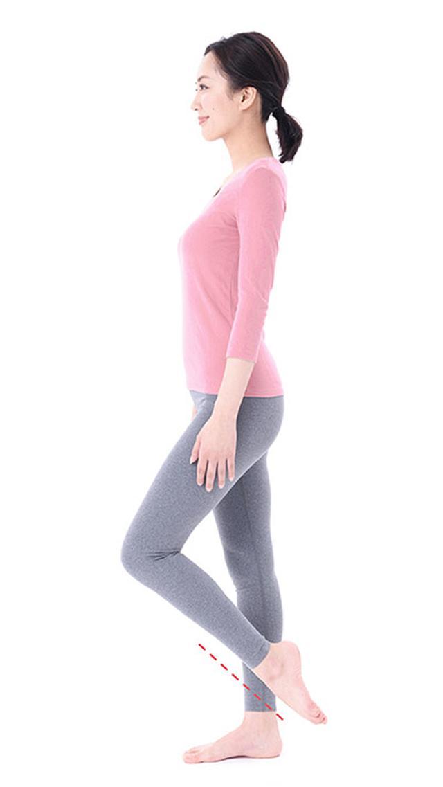 画像4: 【足痩せストレッチ】足の甲を伸ばすのがポイント 血液とリンパの流れもよくなってむくみ解消効果も