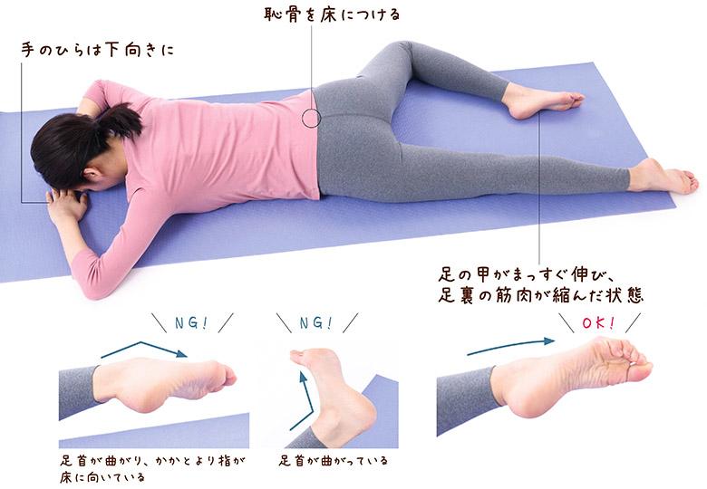 画像: 「内股・O脚改善ストレッチ」のやり方