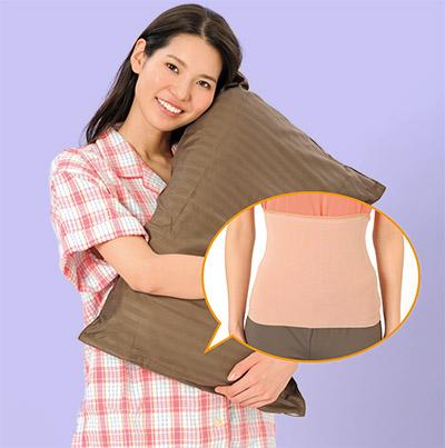 画像: 寝る前は忘れずに腹巻をしましょう。睡眠前後のうがいで、さらに免疫力アップ!