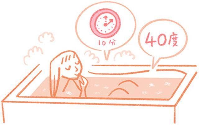 画像: 「40度」「10分」「全身浴」で体が芯から温まる!