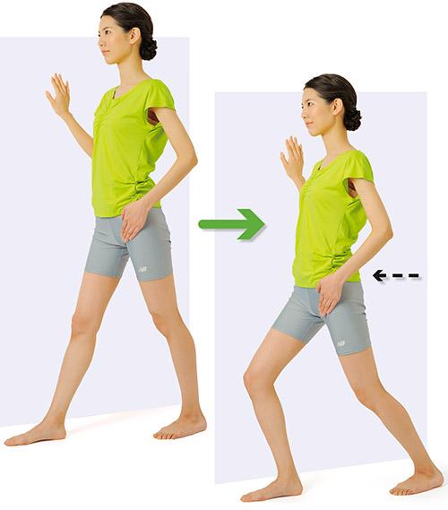 画像1: 股関節ストレッチのやり方