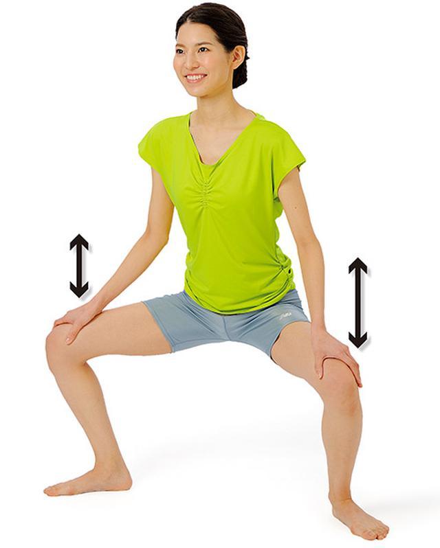 画像: 股関節周囲の筋肉を緩め鍛える「横しこ」のやり方