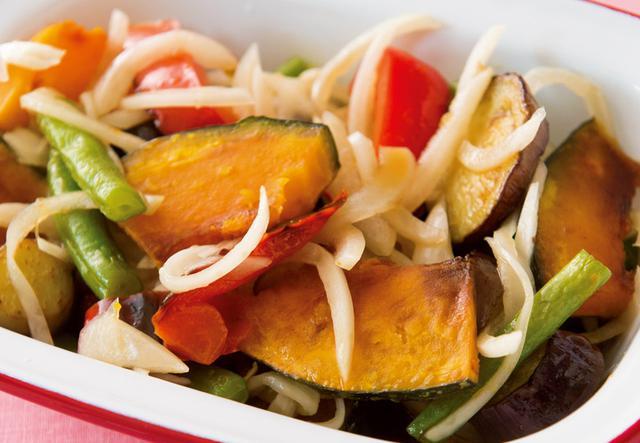 画像: ■酢タマネギと夏野菜のマリネ