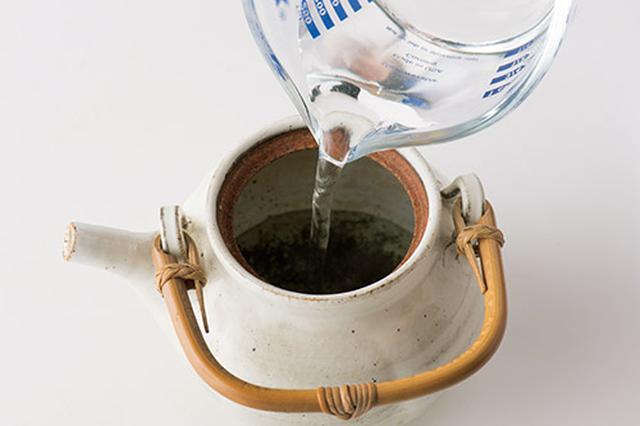 画像3: ショウガ緑茶の基本の作り方