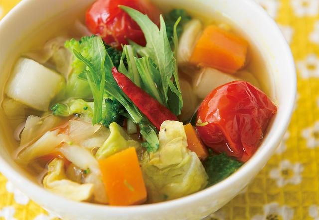 画像: 体の酸化を防ぎ消化も促進! スパイシーカレースープ