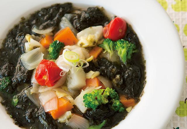 画像: のりでミネラルプラス!むくみ改善にも 磯の香りのり1枚スープ